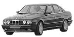 Oryginalne części samochodowe do BMW Seria 5' E34 Limousine