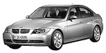 Oryginalne części samochodowe do BMW Seria 3' E90 Limousine