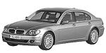 Oryginalne części samochodowe do BMW Seria 7' E66 Limousine