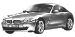 Oryginalne części samochodowe do BMW Seria Z4 E86 Coupé