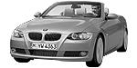 Oryginalne części samochodowe do BMW Seria 3' E93 Cabrio