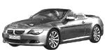 Oryginalne części samochodowe do BMW Seria 6' E64N Cabrio