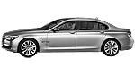 Oryginalne części samochodowe do BMW Seria 7' F02 Limousine