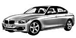 Oryginalne części samochodowe do BMW Seria 3' F30 Limousine