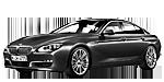 Oryginalne części samochodowe do BMW Seria 6' F06 Gran Coupé