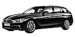 Oryginalne części samochodowe do BMW Seria 3' F31 Touring