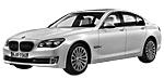 Oryginalne części samochodowe do BMW Seria 7' F01N Limousine