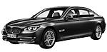 Oryginalne części samochodowe do BMW Seria 7' F02N Limousine