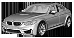 Oryginalne części samochodowe do BMW Seria 3' F80 Limousine