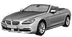 Oryginalne części samochodowe do BMW Seria 6' F12N Cabrio