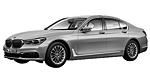 Oryginalne części samochodowe do BMW Seria 7' G11 Limousine