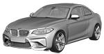 Oryginalne części samochodowe do BMW Seria 2' F87 Coupé