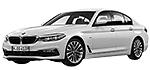 Oryginalne części samochodowe do BMW Seria 5' G30 Limousine