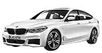 Oryginalne części samochodowe do BMW Seria 6' G32 Gran Turismo