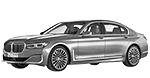 Oryginalne części samochodowe do BMW Seria 7' G12N Limousine